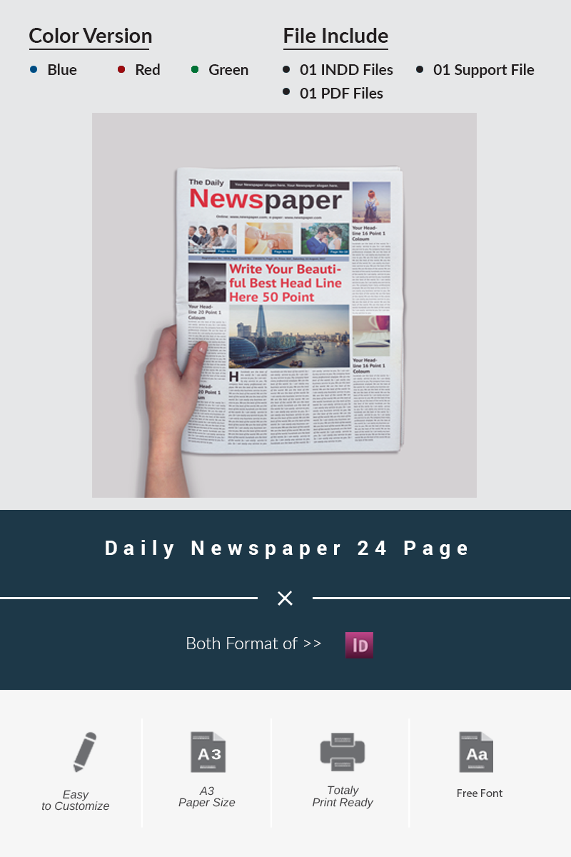 24 PAGES DAILY NEWSPAPER PDF DOWNLOAD