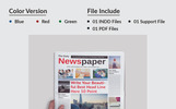 24 Pages Daily Newspaper Corporate Identity Template