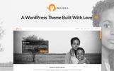 Адаптивний WordPress шаблон на тему ngo