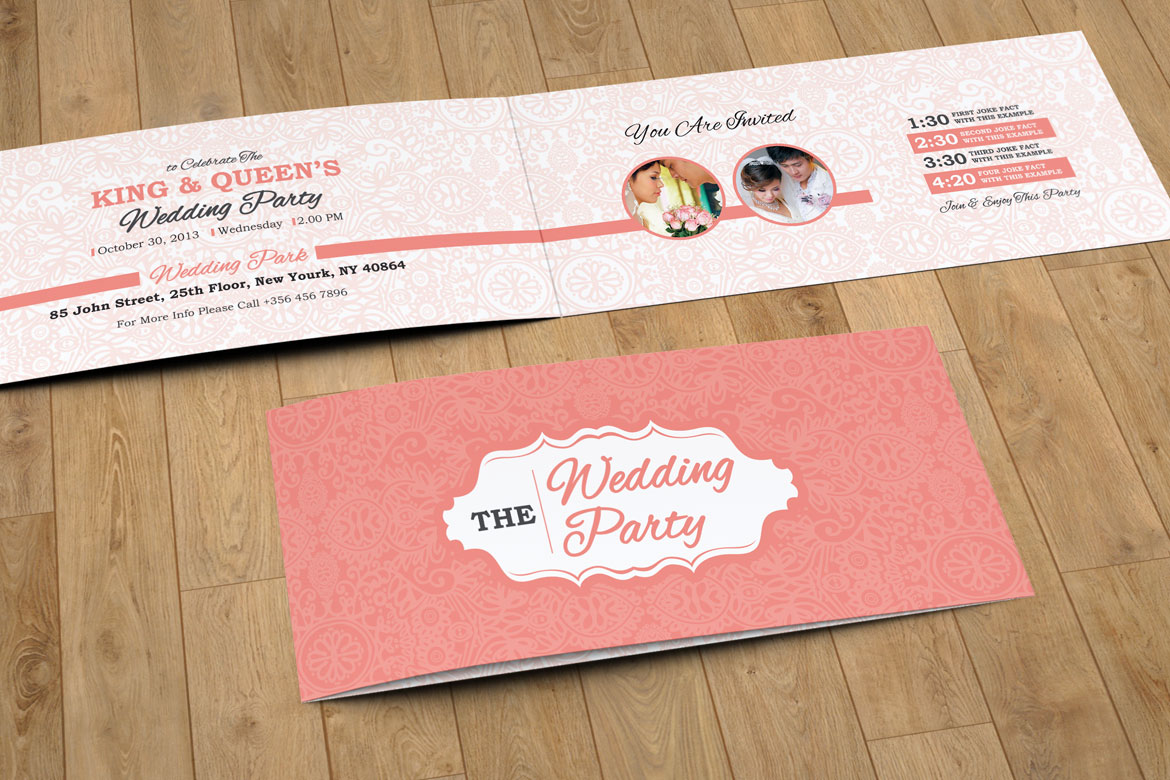 Floral wedding invitation card design you are invited wedding zoom in stopboris Choice Image