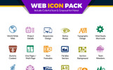 Web Pack | Website Vector for Web Design and Development Agency or Company | Website Use Iconset Template