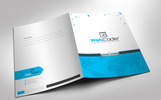 Presentation Folder | File Holder Corporate Identity Template