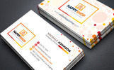 Business Card for E-Commerce or Online Shop | Shopping Mall Business Card Corporate Identity Template