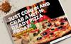 Fast Food & Restaurant Bi-Fold Brochure - Corporate Identity Template Big Screenshot