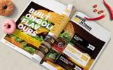 Fast Food & Restaurant Bi-Fold Brochure - Corporate Identity Template