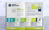 SeoRank Bi-Fold Brochure - Corporate Identity Template