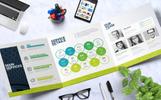 SEO  & Digital Marketing Agency Tri-Fold Brochure - Corporate Identity Template
