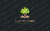Tree of Learning Logo Template