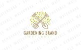 Sustainable Gardening Logo Template