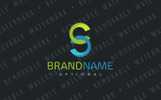 CS Abstract Link Logo Template
