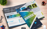 Square and Tall Tri-Fold Brochure | InDesign, PSD and EPS File Formats Corporate Identity Template
