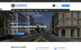 CLASSIFIO - Classified Ads Drupal Theme Drupal Template