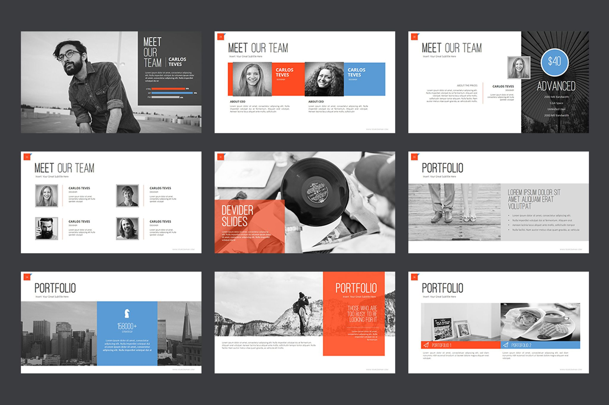 Marketing agency powerpoint template 64617 for Power point templates for mac