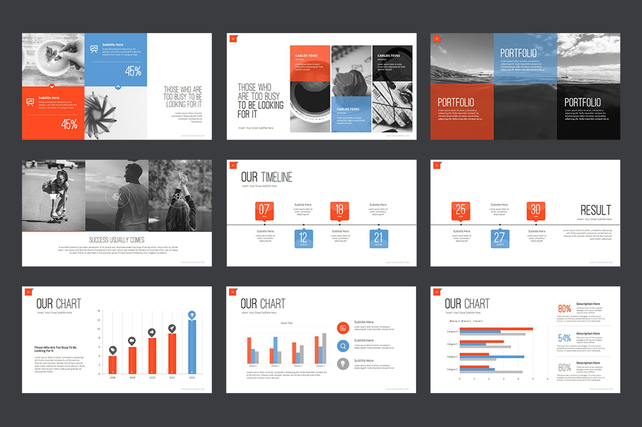 Marketing agency powerpoint template 64617 business creative powerpoint template big screenshot toneelgroepblik Image collections
