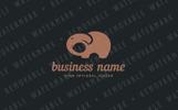 Social Elephant Logo Template