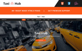 TaxiHub - Taxi Responsive Website Template