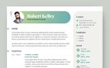 Robert Kelley - Motivational Coach Resume Template