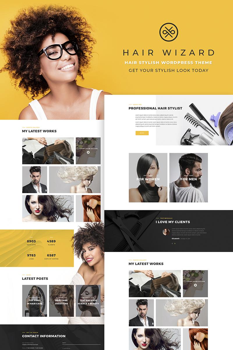 Адаптивный шаблон №66768 на тему мода и красота, красота, салон, парикмахерская