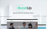 """BoostUp Business Consulting"" 响应式WordPress模板"