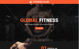 Gym - Fitness Club Unbounce Template