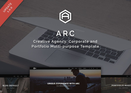 ARC - Creative Agency, Corporate and Portfolio Multi-purpose