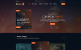 MOVIIE STAR - Online Movie, Video & TV Show PSD Template