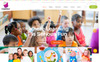 Child Mind - School Learning,  Agency PSD Template Big Screenshot