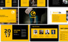Yellow Company Business Keynote Template Big Screenshot