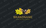 Oak Leaves Logo Template