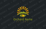 Sunny Orchard Logo Template