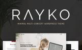 """Rayko - Minimal Multi-Concept"" WPML兼容性WooCommerce模板"