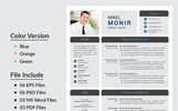 Job application Mikel Monir Resume Template