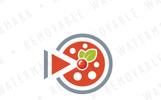 Cherry Pie Media Logo Template