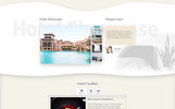 Plantilla PSD para Sitio de Opiniones sobre hoteles