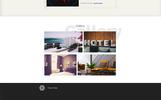 "Tema PSD #66852 ""Hotel"""