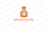 Chef Buddha Logo Template