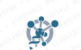 Science Pencil Logo Template