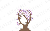 Maiden Tree Logo Template