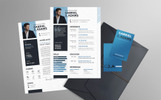 Gabriel J Adams - Web Developer Resume Template
