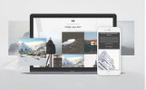 Alpina - Creative Project Landing Page Template