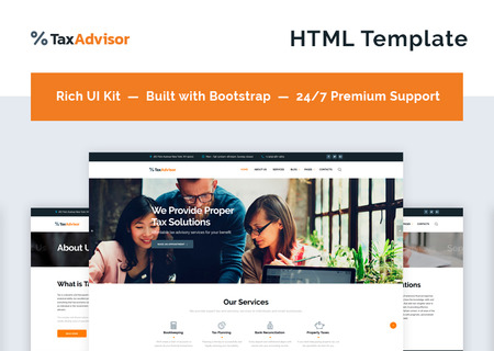 Financial Advisor Multipage