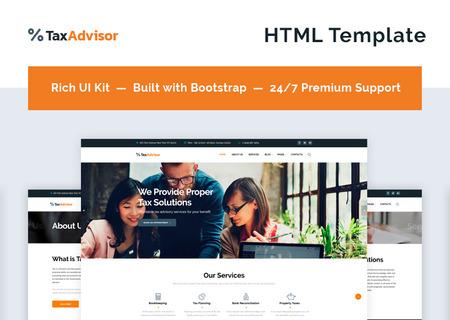 Financial Advisor Multipage