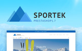 Responsive PrestaShop Thema over Skiën