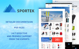 Sportek - Winter Sports Equipment Store PrestaShop Theme