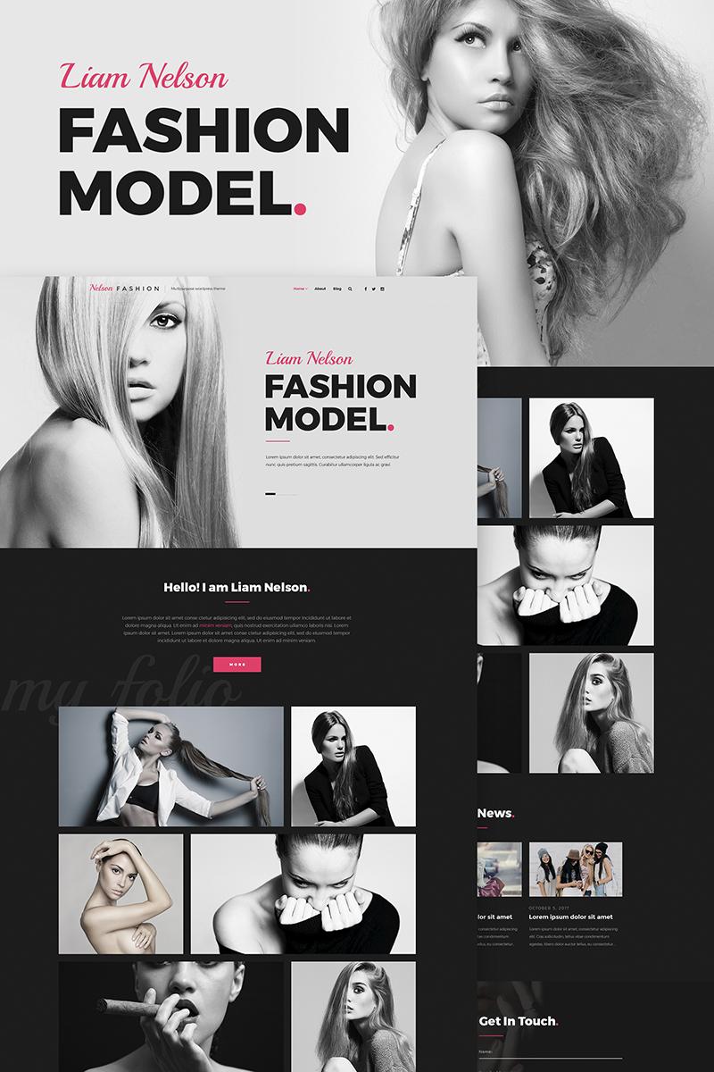 Адаптивный шаблон №66849 на тему мода и красота, мода, блог о моде