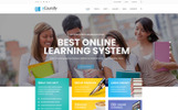 "Bootstrap WordPress motiv ""ECoursify - LMS for Online Courses"""