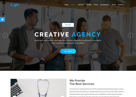 Logic - Material Design Agency