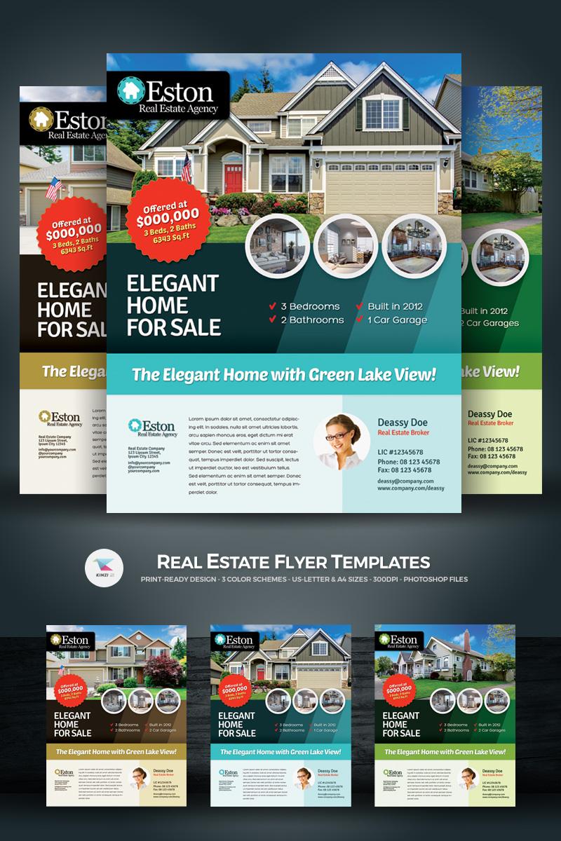 real estate flyer template de identidade corporativa 66873