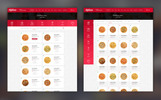 Cafehouse - Food Online Ordering eCommerce PSD Template