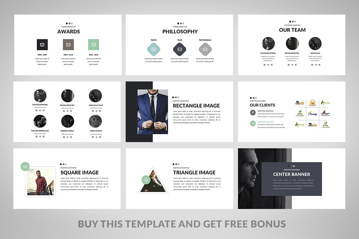 Minimix powerpoint presentation powerpoint template 64770 minimix powerpoint presentation template big screenshot toneelgroepblik Images